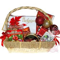 Подарочная корзина «Новогоднее поздравление»