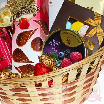 Подарочная корзина «Для тебя»