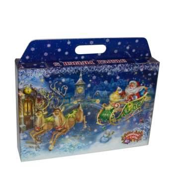 """Детский новогодний подарок """"Новогодний чемоданчик"""" 1640г"""