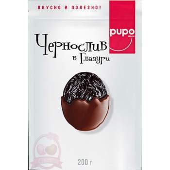 Pupo Фруктовый Десерт Чернослив В Глазуре