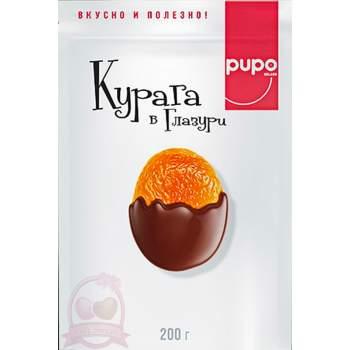 Pupo Фруктовый Десерт Курага В Глазуре