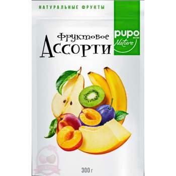 Pupo фрукты сушеные ассорти