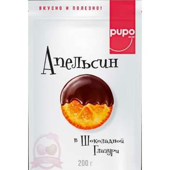 Pupo Фруктовый Десерт Апельсины В Шоколадной Глазури
