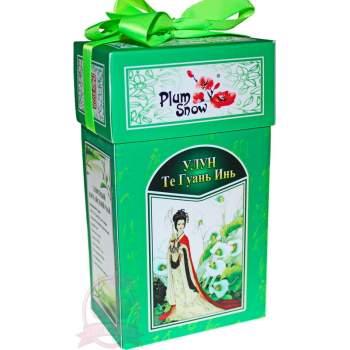 """Plum Snow Чай Китайский элитный """"Зеленая улитка те Гуань Инь"""""""