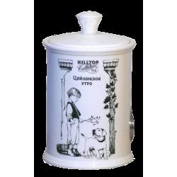 """Hilltop Чайница подарочная керамическая """"Цейлонское утро"""" 125г"""