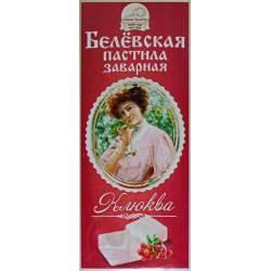 """Белёвская Пастила заварная """"Клюква"""" 250г"""