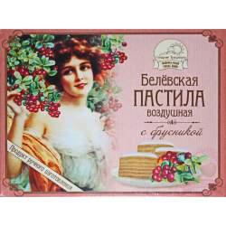 Белёвская Пастила Яблочная С Брусникой 200г