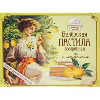 Белёвская Пастила Яблочная С Лимоном